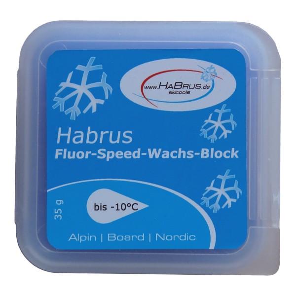 Fluor Speed Wachs Block blau