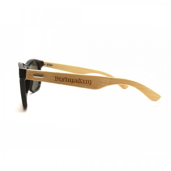"""Sonnenbrille """"Bixlmadam"""" mit Holzbügel"""