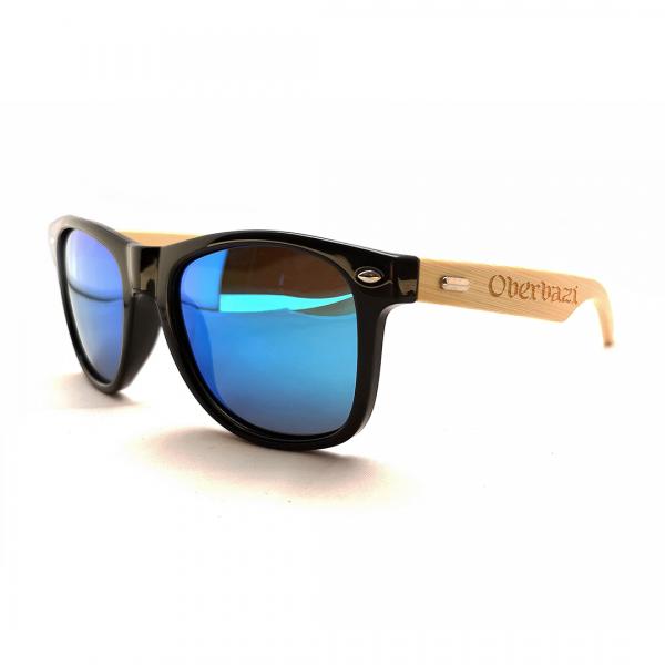 "Sonnenbrille ""Oberbazi"" mit Holzbügel"