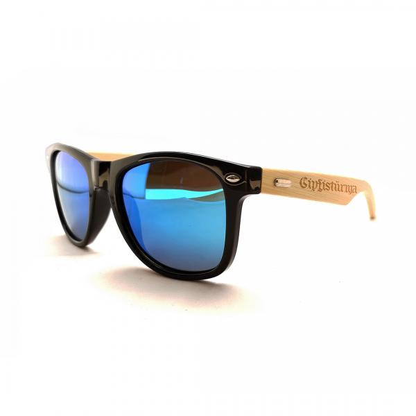 """Sonnenbrille """"Gipfistürma"""" mit Holzbügel"""